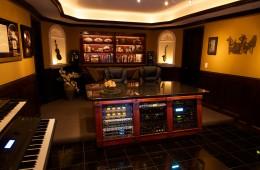 Rear of Control Room